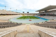 Olympic stadium in Barcelona, Spain